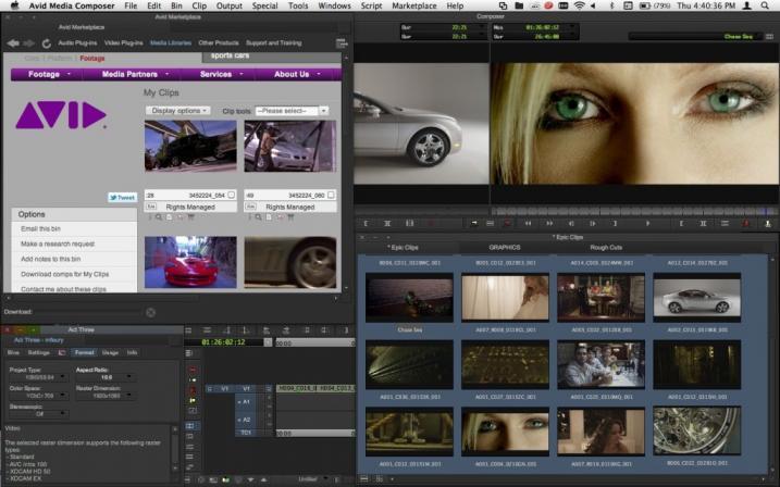 Avid Media Composer agora compatível com OSX 10 8 Mountain