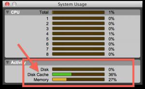 Fig. 4B - Sessão carregada na memória RAM