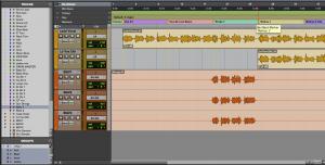 Fig. 6B - Função Show:Hide aplicado nos vocais
