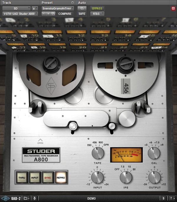 waves kramer master tape s a parte boa de gravar em fita proclass. Black Bedroom Furniture Sets. Home Design Ideas