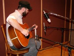 fig. 3 - Microfonação de violão