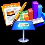 keynote pages numbers logo